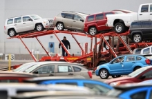Auto transport terminal